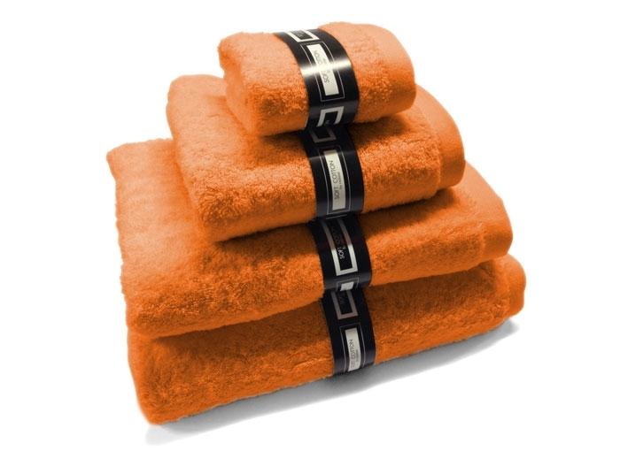 Toalla lisa naranja en Best Home Stores